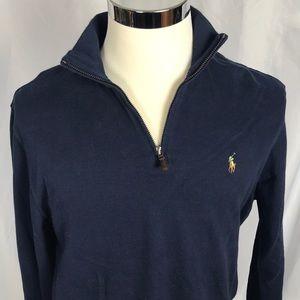 Polo Ralph Lauren estate rub 1/4 zip pullover NWT